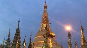 Yangon schwedagon