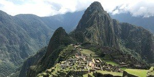Walking the Inca Trail to Machu Piccu